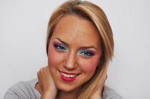 going to candyland all dolled up  I have a video on this look, so go check it out! (:
