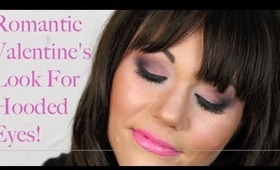 Valentine's Day Makeup For Hooded Eyes+Sexy+Romantic