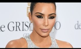 Kim Kardashian Cannes Inspired Makeup | Full Face