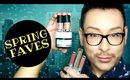 MARCH FAVORITES | Skincare, Waterproof Brows, Palettes, Glitter, Liquid Lips | Mathias4Makeup