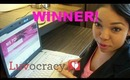 Luvocracy $50 Giveaway WINNER!