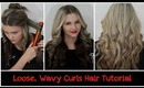 Chit Chat Hair Tutorial: Loose/ Wavy Curls