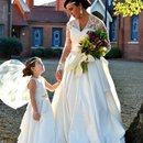 Me and the mini-me on our wedding day...❤️