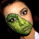 Lizard face!