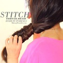 "Cool Braids Hairstyles | ""Stitch"" Fishtail Braid Tutorial for Medium Long Hair"