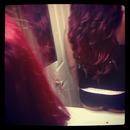 I lalalove my hair lately.