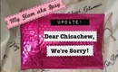 Update: Apology from My Glam aka Ipsy!