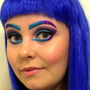 Katy Perry inspired makeup