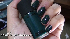 MAC Deep Sea Nail Polish. A Trendy New Color for Fall