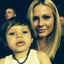 Avec mon bébé d amour !!!