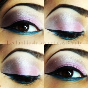 Using the pigment '21' by SYN Cosmetics