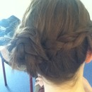 Braided friends hair