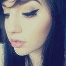 Bold eyeliner!