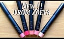 New Zoeva Luxe Color Blush & 'Lips to Love' Lip Crayons.