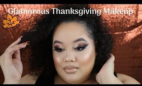 Super Glam Thanksgiving Makeup Tutorial
