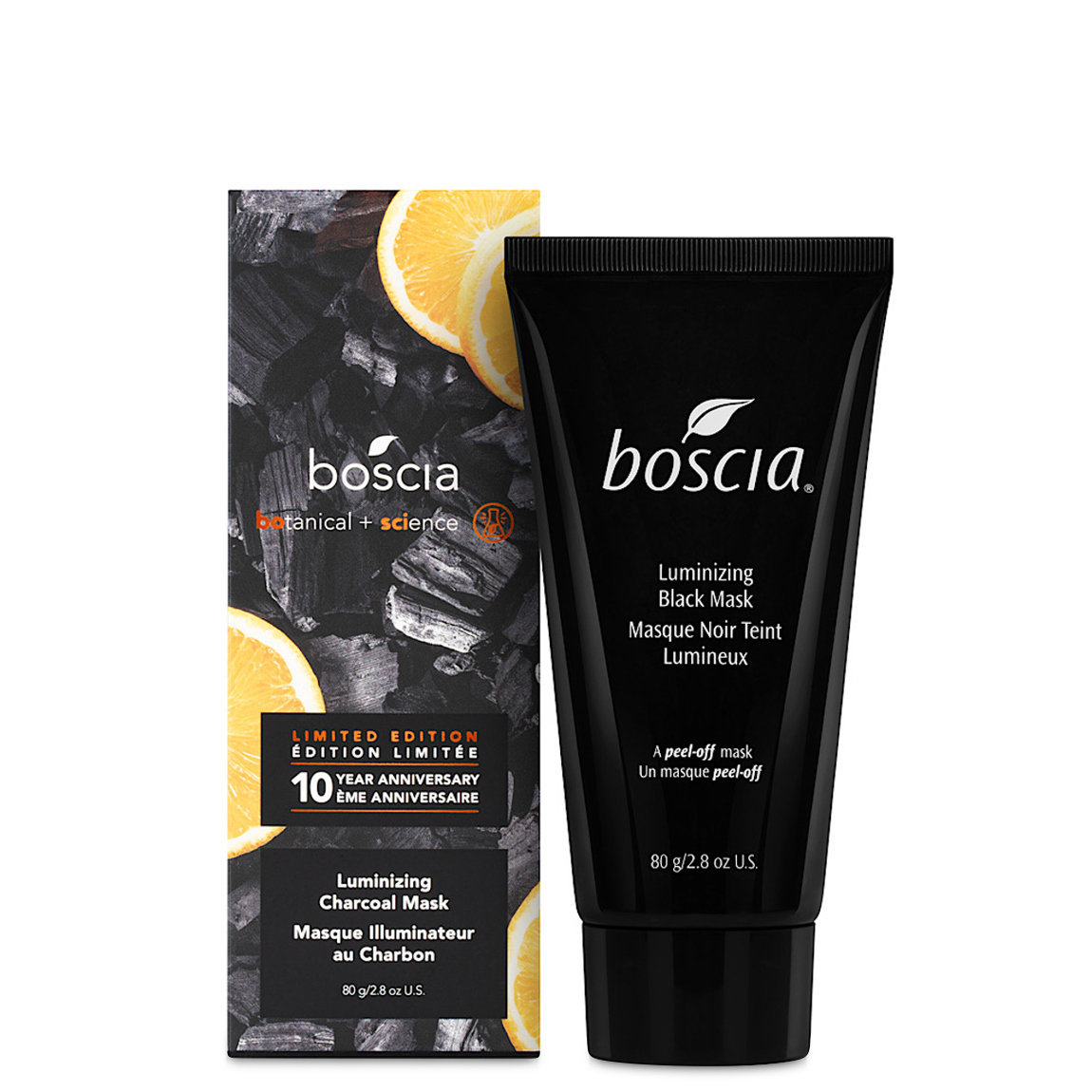 boscia Luminizing Black Charcoal Mask 10th Anniversary Edition alternative view 1 - product swatch.
