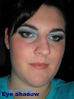 Electric Blue and Teal Look