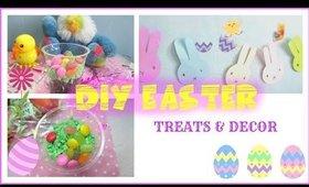 DIY Easter Treat & Room Decor