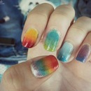 Rainbow sponge gradient :D