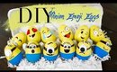 DIY Minion Emoji Easter Eggs | 1 Minute DIY  | ANNEORSHINE