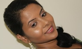 """Radiant and Glowy Makeup -  Indian Makeup On """"Shania Twain - From this moment on"""" Instrumental"""