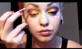Flower girl makeup tutorial