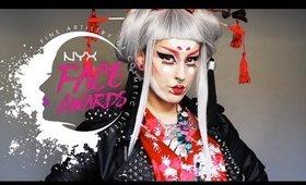 "Modern ""ROCK"" Geisha | NYX ITALIA FACE AWARDS TOP 10 #TEAMCATHERINE"