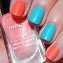 Inglot O2M shades 684 and 687