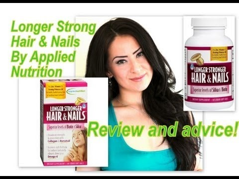 Review Longer Stronger Hair And Nails By Applied Nutrition
