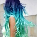 Blue ombre, what do you think?