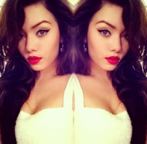 Love The Red On My Lips ^_^ ?