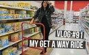 VLOG #91: MY GET AWAY RIDE | SCCASTANEDA