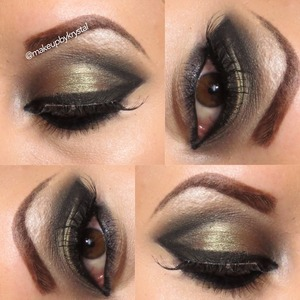 Find the tutorial at www.youtube.com/kmbmakeup
