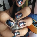 Galaxy Inspired Nails