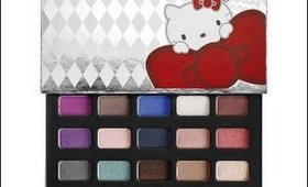 Hello Kitty40th Anniversary Pop Up Party Palette Review