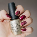 OPI PURE w/ China Glaze Red-y&Willing