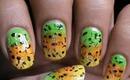 Gradient Nail Polish Designs- Cute Ombre Bright Nail Art Long/Short Nails Easy Tutorial Sponge