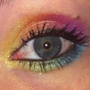 Simple Rainbow Eyes!