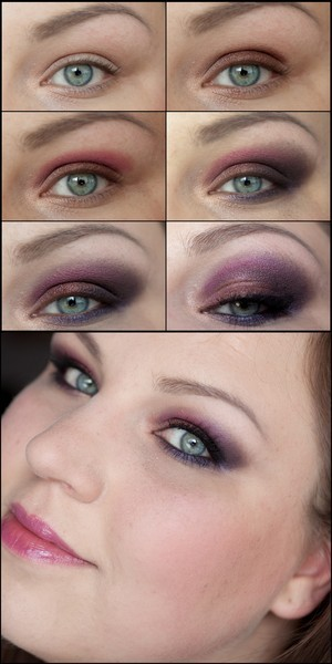 Makeup made with ESTEE LAUDER Violet Underground Cyber Eyes Eyeshadow Palette (limited) and the matching Gloss from the collection.  Complete describtion: http://www.magi-mania.de/estee-lauder-violet-underground-palette-makeup-step-by-step/