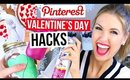 Pinterest Hacks TESTED #8    VALENTINE'S DAY EDITION
