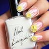 Lemonade Splash Nails