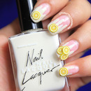 Lemonade Splash Nails