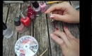 Pink Nail Tutorial for Breast Cancer Awareness Month