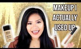 Makeup I Have Completely Used Up 2018   makeupbyritz