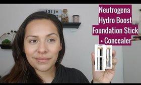 Neutrogena Hydro Boost Foundation Stick + Concealer