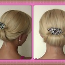 Quick and Easy Evening Updo