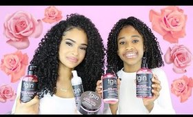*NEW* TGIN Curls N' Roses Collection | Entire Line Review + Demo