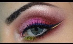Cherry blossom inspired makeup - Collaboration Azaharamakeup