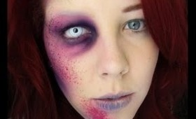 Mutated Zombie Makeup Tutorial (Without latex!)