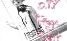 D.I.Y Fringe Shirt